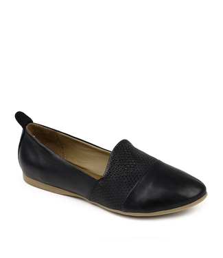 Bueno Katy Ballerinas - Black