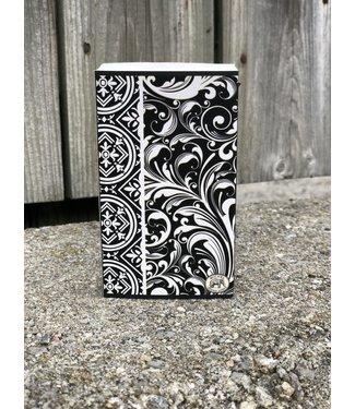 Michel Design Matches - Black Florentine