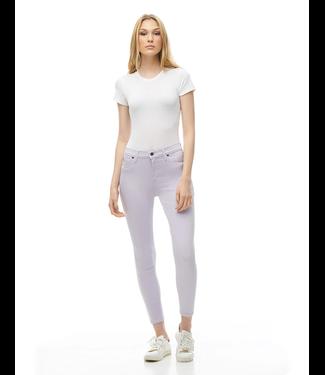 "Yoga Jeans Classic Rise Skinny - Lilac / 27"" inseam"