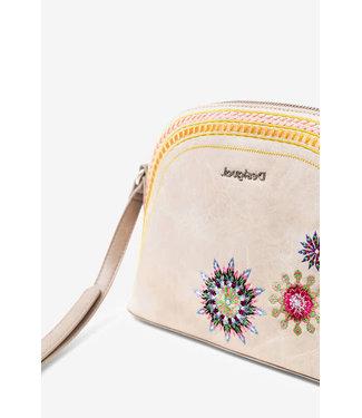 Desigual Sling bag embroidered mandalas