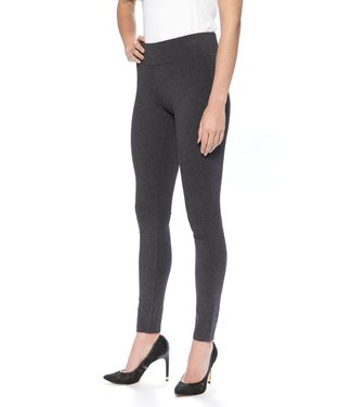 Hue Graphite Leggings with Wide Waist Band