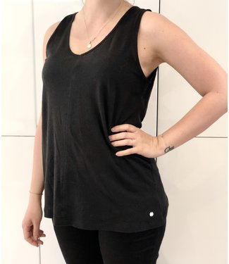 Point Zero Black Tank Top