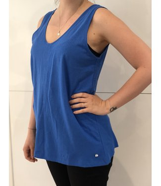 Point Zero Blue Tank Top