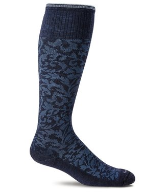 SockWell Compression Socks Navy S/M