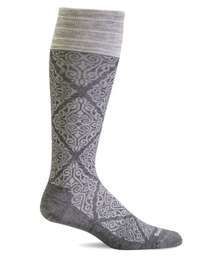 SockWell Compression Socks Charcoal S/M