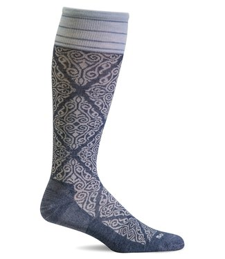 SockWell Compression Socks Denim