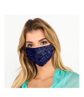 Bandana Face Mask Navy