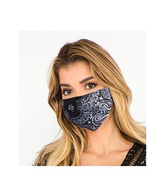 Bandana Face Mask Black