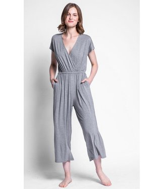 Pink Martini Grey Jumpsuit