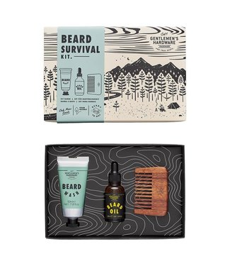Gentlemens' Hardware Beard Survival Kit