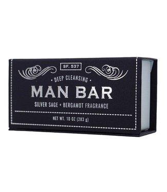 Gentlemens' Hardware Man Bar - Silver Sage + Bergamot