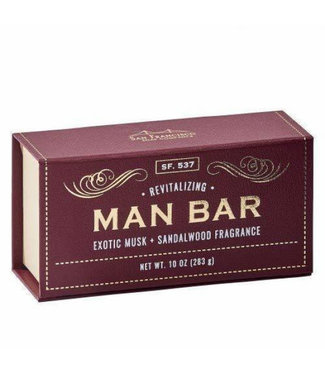 Gentlemens' Hardware Man Bar - Exotic Musk + Sandalwood