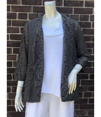 Beyond Capri Brown Lace Jacket