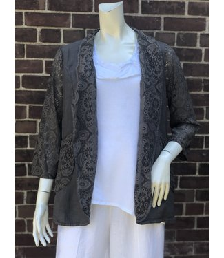 Brown Lace Jacket