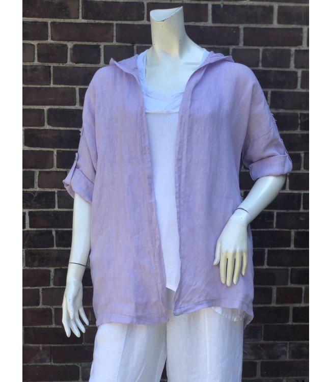 Angela Mara Light Purple Jacket