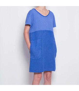 PAN Blue Stripped Dress