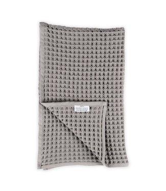 Pokoloko Hand Waffle Towel - Dark Grey (Pack of two)