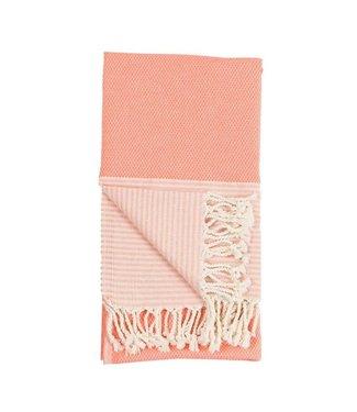 Pokoloko Turkish Towel - Patek Coral
