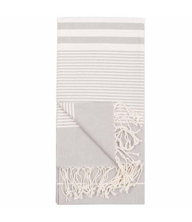 Pokoloko Turkish Towel - Harem Silver