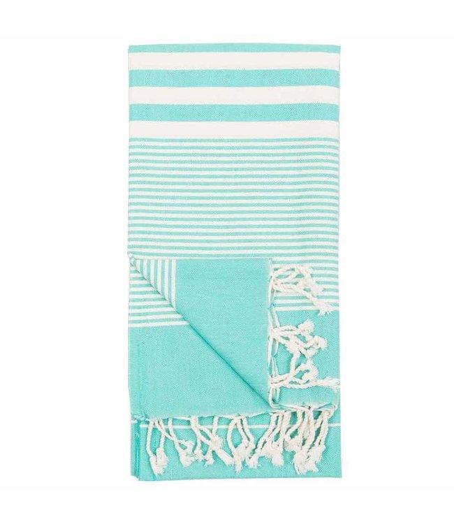 Pokoloko Turkish Towel - Harem - Turquoise