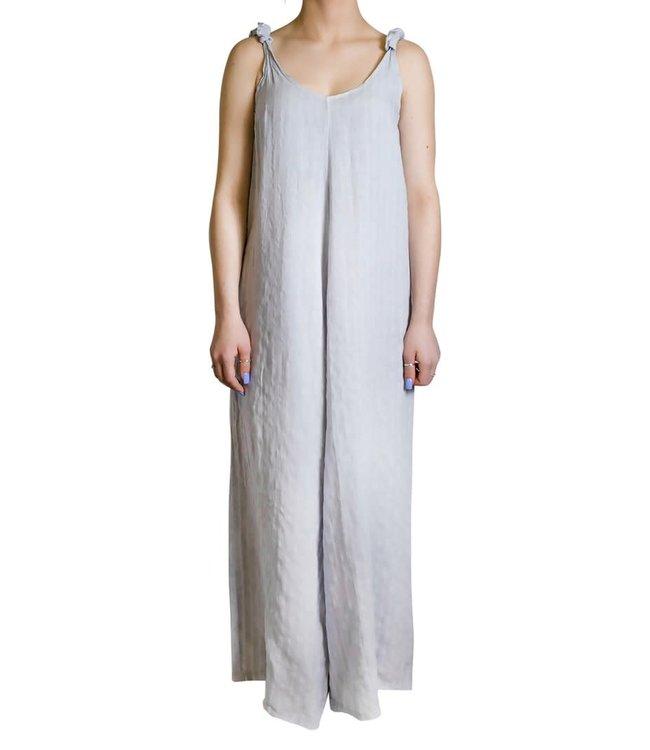 Grey Maxi Jumpsuit