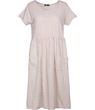 M Made in Italy Beige Dress