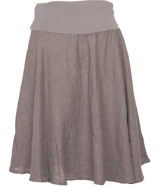 M Made in Italy Taupe Skirt