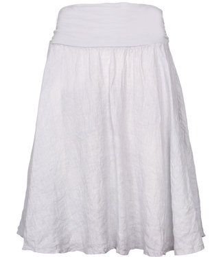 M Made in Italy Silver Skirt