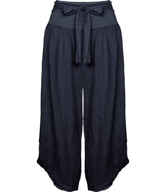 M Made in Italy Navy Pants