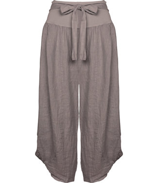 M Made in Italy Taupe Pants