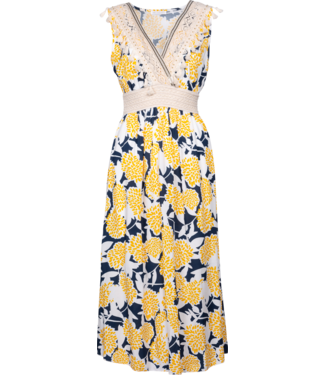 """M Made in Italy """"M"""" Sleeveless Printed Dress"""