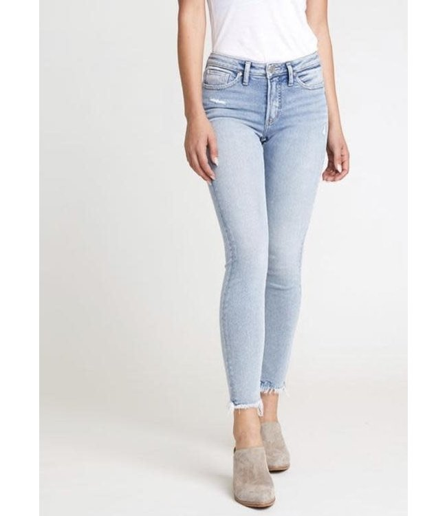 Silver Jeans Most Wanted Skinny - Indigo