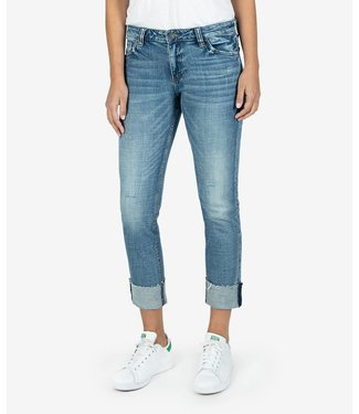 KUT Jeans Reese Ankle Jeans, raw hem