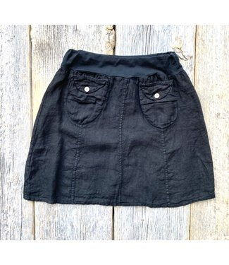 Skirt with Pockets - Black