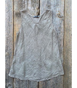 Angela Mara Bias Cut Tank Top - Sand  **