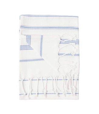 Pokoloko Turkish Hand Towel - Sultan - White