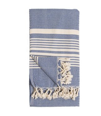 Pokoloko Turkish Towel - Hasir - Navy