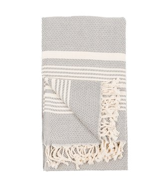 Pokoloko Turkish Towel - Hasir - Slate