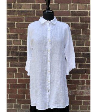 Pure Venice White Tunic Shirt **