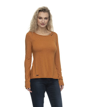 Ragwear Long Sleeve Tee - pumpkin