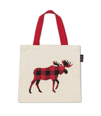 Buffalo Check Moose Bag
