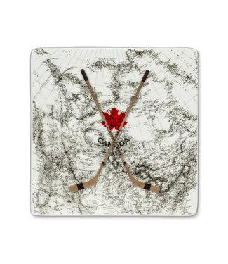 Hockey Sticks/Map Coaster