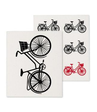 Bicycle Dishcloth - Set of 2