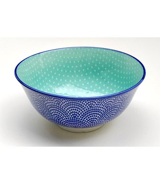 Bowl - Medium - Wave/Aqua