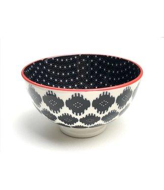 Bowl - small - Blk Ikat