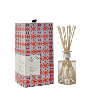 Lucia Diffuser - Damask Rose & Cypress