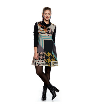 Luc Fontaine Long Sleeve Dress