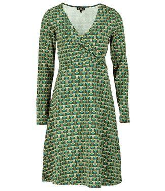 Zilch Dress Cross - art deco
