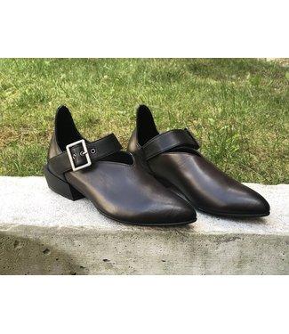 Bueno SHERRY Flats - Teak Leather