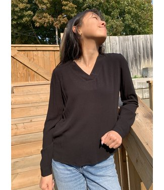 Zilch Blouse V-Neck